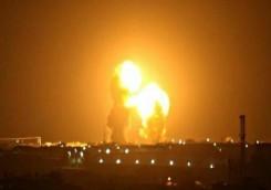 إصابات في الهجوم الصاروخي الذي استهدف السفارة الأمريكية في بغداد