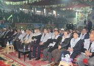احتفال مركزي لاقليم سورية لحركة فتح وسط عاصمة الياسمين دمشق بمناسبة الانطلاقة ال55